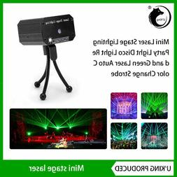 Laser Projector Stage Light Mini LED R&G Lighting Xmas Party