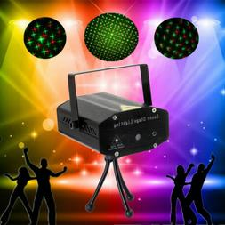 Laser Projector Stage Lights Mini LED R&G Lighting Xmas Part