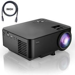 LCD 1800 Lumens LCD mini Video 1080P Projector Home Theater