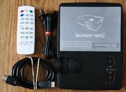 VicTsing LCD Mini Portable HD 1080P Multimedia-Input LED Mov