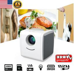 Excelvan LED 1080P Mini Multimedia Projector Home Theater Ci