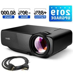 RAGU LED LCD Mini Portable Video Projector Full HD 1080P 180