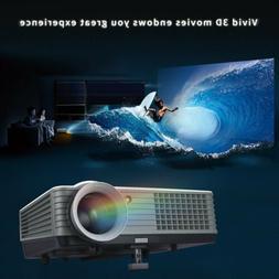 LED Mini Multi-media Portable Video Projector Game Home Cine
