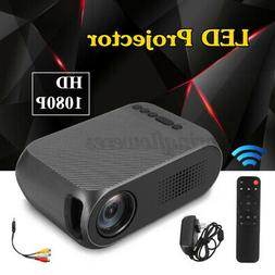 LED Mini Portable Pocket Projector HD 1080P Movie Video Home