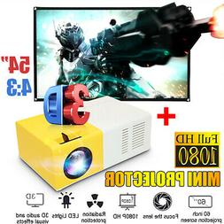 led mini projector ultra portable hd 1080p