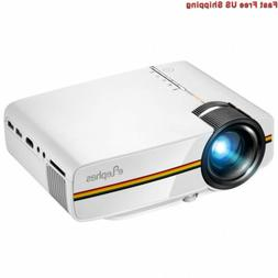 ELEPHAS LED Movie Projector, with 2018 Updated LCD Technolog