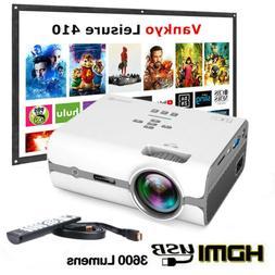 VANKYO Leisure 410 1080P LED Mini Projector Smart Home Theat