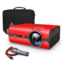 VANKYO Portable Projector, Support HD 1080P, Mini Projector