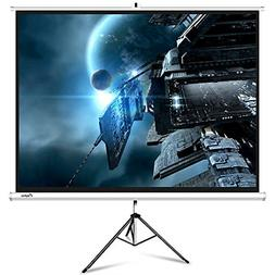 ELEPHAS M100-S Projector Screen with Stand, Portable 100 Inc