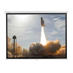 """Matte White Adhesive Projector Screen Viewing Area: 60"""" H x"""