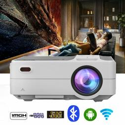 Mini 1080p HD Bluetooth WIFI Airplay Projector Home Cinema B