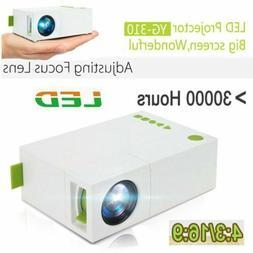 Mini 1080p LED Video Projector Pocket LED Portable HD Home P