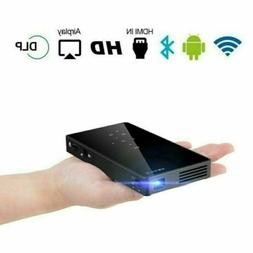 Mini 3000 Lumens DLP Android Wifi Home Theater Projector HD