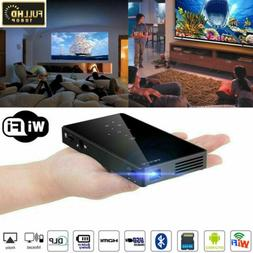 Mini 3000Lumens DLP Android Wifi Home Theater Projector HD 1