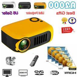 Mini Portable Pocket Projector HD 1080P Movie Video Home The