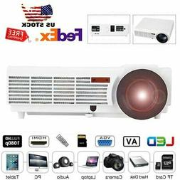 Mini 5000Lumens 4K 1080P LED Projector Home Theater Cinema T
