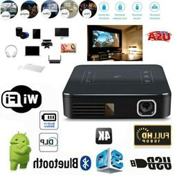 Mini 5000Lumens DLP HD 1080P TOUCH Projector Android Wifi 4K