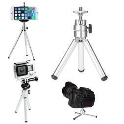 Mini Adjustable Aluminum Alloy Tripod Stand Holder for Proje