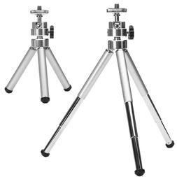 Mini Aluminum Alloy Desktop Tripod 3 Section Stand Holder fo