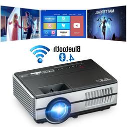 Android Bluetooth LED Small Projector Home Theater Game Part