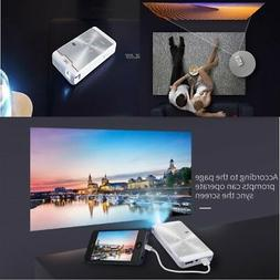 Mini Android DLP Projector Portable Led 1080p Hd Video for I