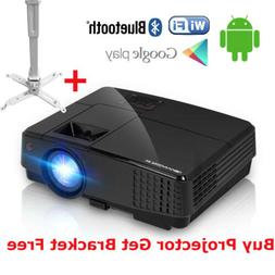 Mini Android Wifi Home Cinema Projector Online Wireless Movi