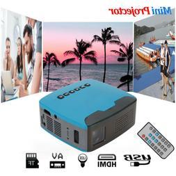 Mini Cube LED Portable Wireless Home Multimedia Video Projec