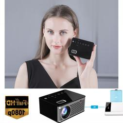 Mini Digital LCD LED Projector Multimedia Home Theater 1080P