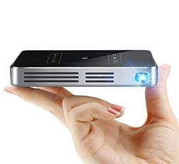 Mini Projector, Aodin X9T Touch Panel Portable Projector And