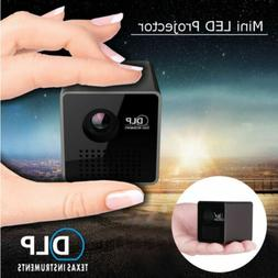 Mini DLP Projector HD 1080P Smart Home Theater Cinema Wifi A