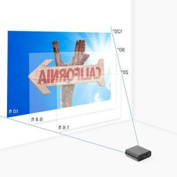 mini dlp projector with built in battery