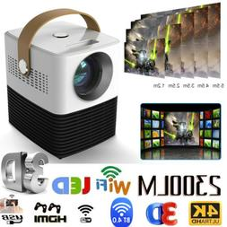 Mini HD 1080P Portable Pocket Projector LCD Movie Video Proj
