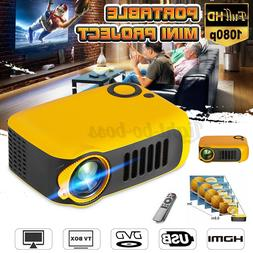 Mini HD 1080P Portable Pocket Projector Movie Video Projecto