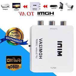 mini hdmi composite cvbs 3rca