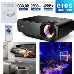 RAGU Mini Home Theater Projector HDMI Video VGA LED AV TV Ga
