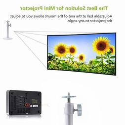 Mini LCD DLP Projector 360 Degree Wall Mount Ceiling Holder