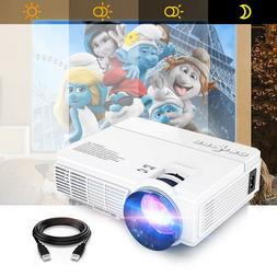 Mini LCD Home Cinema Projector 2400 Lumens LED Support Andro