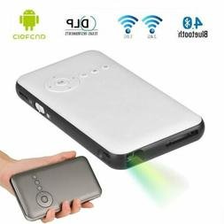 Mini LED DLP WIFI Bluetooth 4.0 Pocket Projector 3D Home Cin