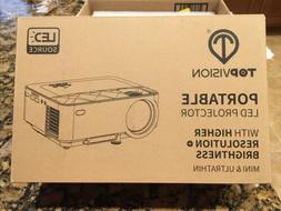 TOPVISION MINI LED HOME THEATER PORTABLE PROJECTOR T21