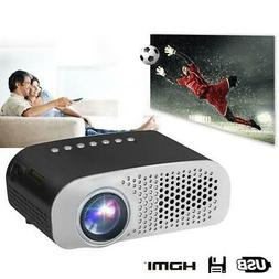Mini LED Projector GP802A Home Beamer for Kids 1920x1080P HD