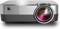 CRENOVA Mini LED Q6 Projector 2800 Lumens For Full HD 1080p