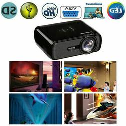 Mini LED Smart Home Theater Projector 4K 1080P FHD 3D VGA HD