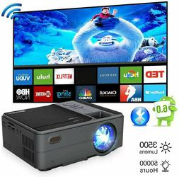 Mini Android WiFi Projector Blue-tooth Wireless Portable 108