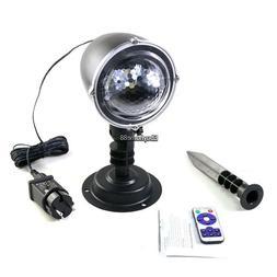 Mini LED Snowfall Projector Outdoor Garden Projector Lamp EH