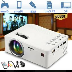 Mini LED Video/Movie/Game Projector Home 1080p Home Theater