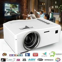 MINI MULTIMEDIA 3D 1080P HD LED VIDEO PROJECTOR HDMI/USB/SD/