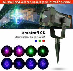 Eva Logik Mini Outdoor Waterproof Laser Projector Light- RGB