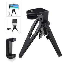 Mini Phone Tripod Table Stand, vamvo Phone Tripod with Pads