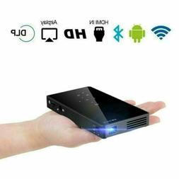Mini Pocket 3000 Lumens DLP Android Wifi Projector HD 1080P