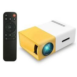 Mini Pocket 1080p Portable Projector Home Cinema 3D Movie LE